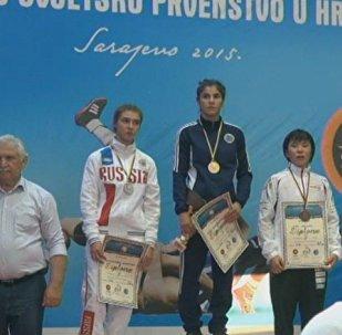 Лейла Гурбанова завоевала золото чемпионата мира по борьбе среди юниоров