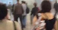 Люди бежали из задымленного здания аэропорта Домодедова