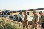 Закир Гасанов лично проверяет боеготовность армии АР.