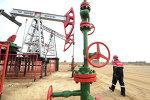 Oil production in cities of Khanty-Mansiysk Autonomous Okrug