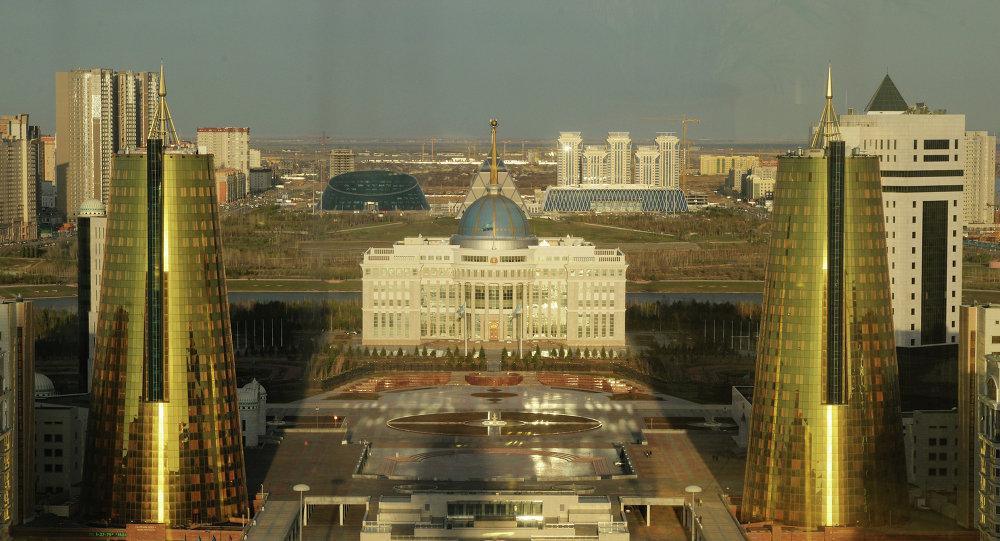 Cities of the world. Astana