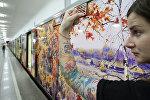 Презентация новой экспозиции поезда Акварель