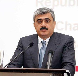 Министр финансов Самир Шарифов. Архивное фото