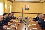 Встреча министра обороны Азербайджана с делегацией ПАСЕ