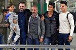 Yerə yıxdıqları Suriyalı ata İspaniyada futbol məşqçiliyi edəcək
