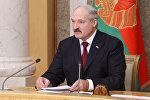 Встреча с президентом Беларуси Александром Лукашенко в рамках ФЕАМ