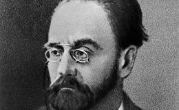 Французский писатель Эмиль Золя