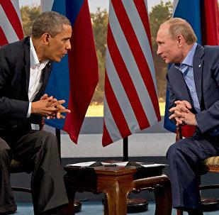 Путин - Обама