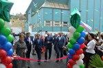 Открытие в Дербенте после реконструкции средней школы номер 4 имени Героя Советского Союза Шамсулы Алиева.