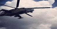 На боевом дежурстве: патрулирующий российскую авиабазу в Сирии Ми-24