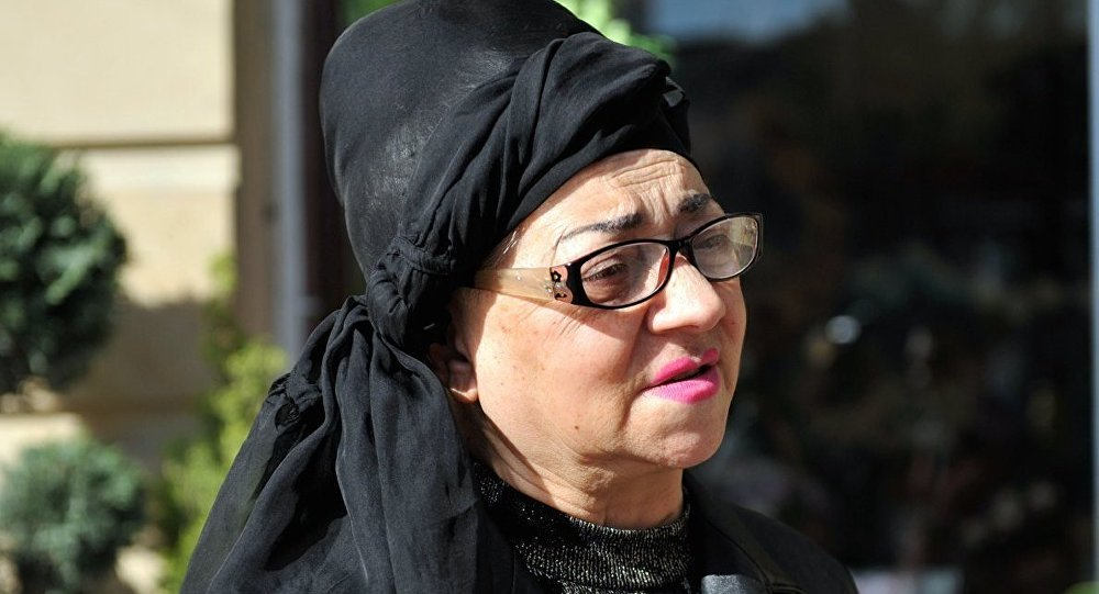 Народная артистка Азербайджана Нурия Ахмедова.