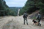 Военнослужащие отдела пограничной службы