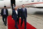 Премьер-министр Грузии Ираклий Гарибашвили прибыл с визитом в Азербайджан