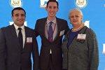 Сотрудники фонда «Карабах» на выставке Сфера партнерства в Госдепе США.
