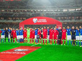 Отборочный матч чемпионата Европы-2016 по футболу Азербайджан-Италия