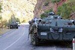 Турецкая армия в поисках группировок РПК