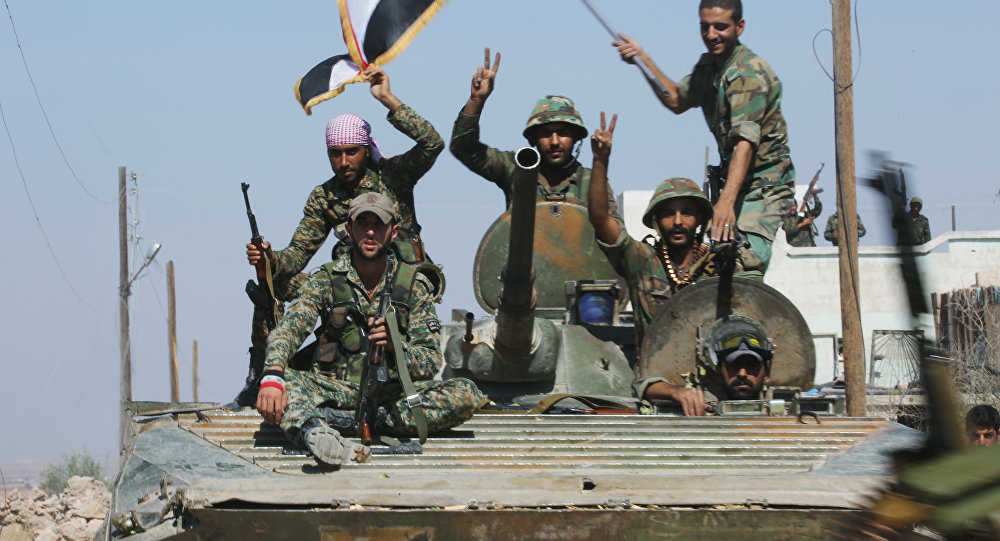 City of Atshan liberated by Syrian army with support of Russian aviation