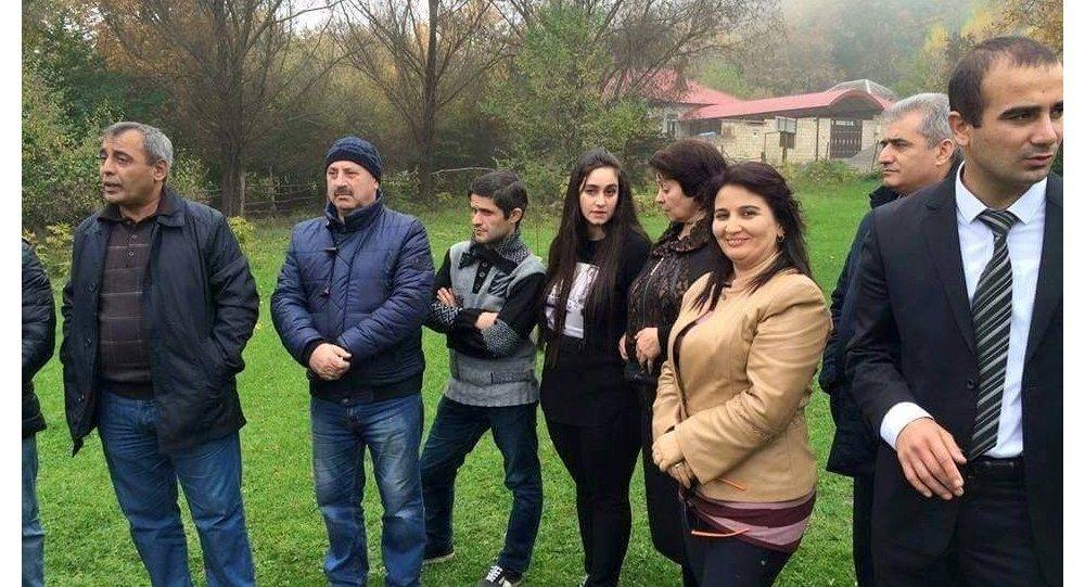 Jurnalistlərin Qubada istirahəti