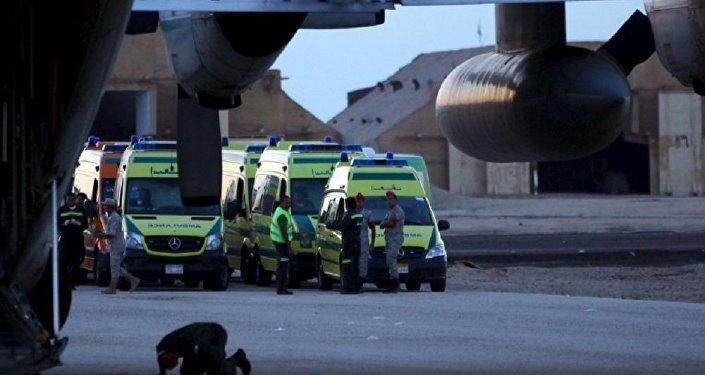 Крушение российского лайнера в Египте.