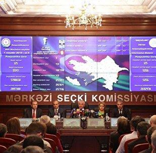 Mərkəzi Seçki Komissiyası 1 noyabr seçkilərinin ilkin nəticələrini açıqladı