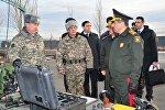Министр обороны Азербайджана Закир Гасанов посетил Казахстан