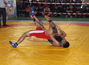 Чемпионат по вольной борьбе среди структур МЧС Азербайджана
