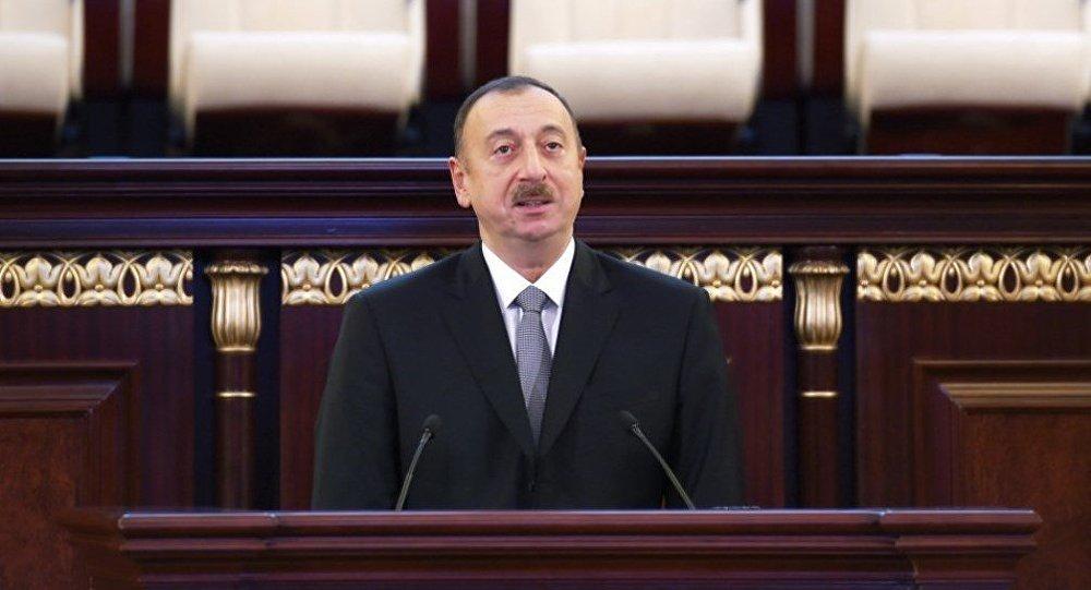 Президент Ильхам Алиев выступил на мероприятии, посвященном 70-летнему юбилею Национальной академии наук АР