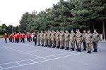 Группа азербайджанских миротворцев вернулась в Азербайджан из Афганистана