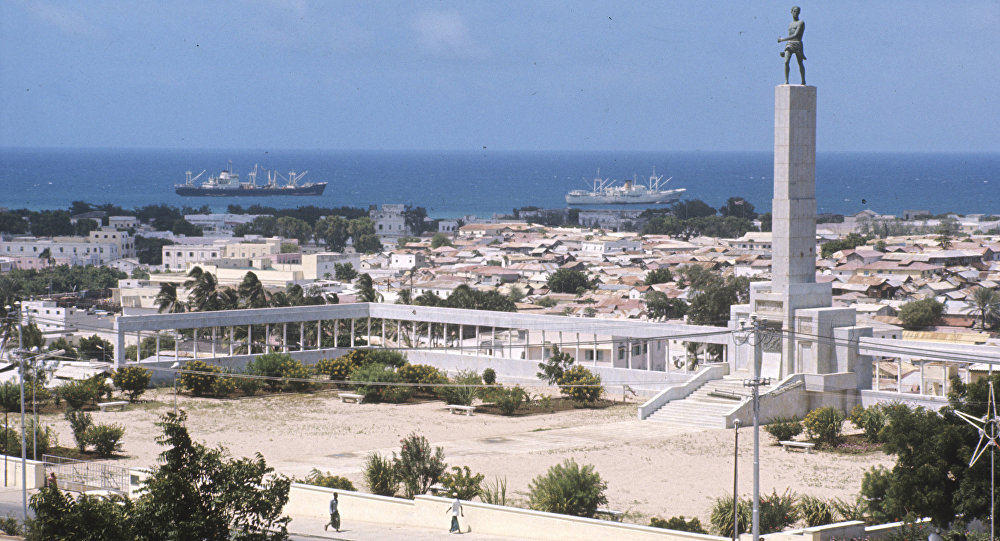 The capital of Somalia Mogadishu