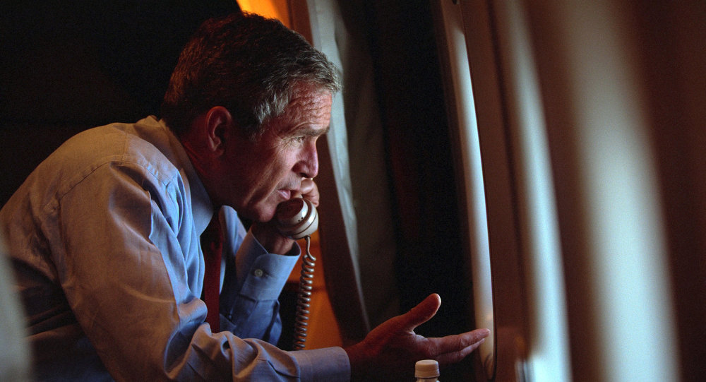 Following the terrorist attacks of Sept. 11, 2001, President George W. Bush authorized the NSA to collect Americans' phone calls and emails without warrants required by the Foreign Intelligence Surveillance Act.