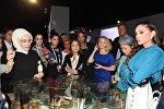 Первая леди Азербайджана Мехрибан Алиева посетила выставочный комплекс Юрд в Анталье