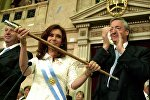 Kristina və Nestor Kirçnerlər - Argentina