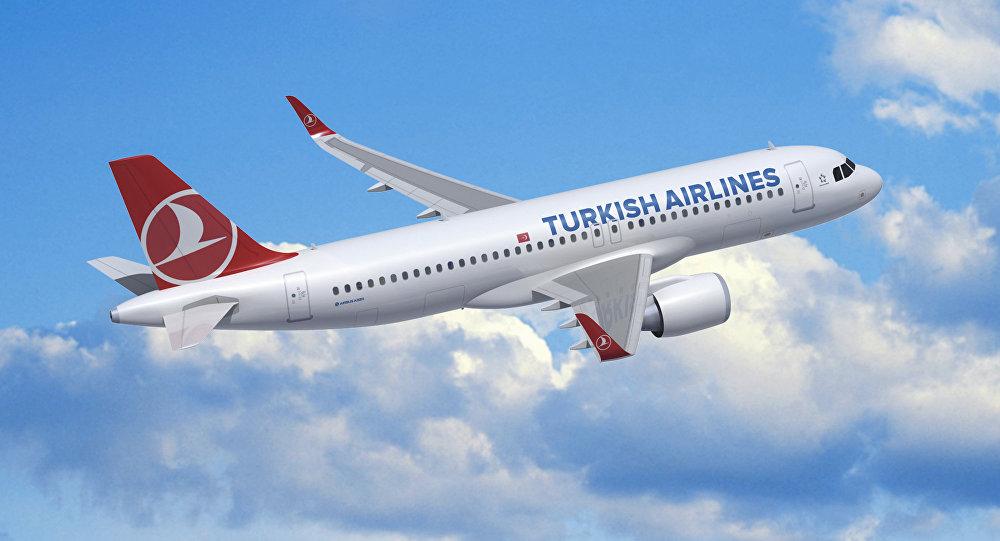 Türk Hava Yollarının təyyarəsi