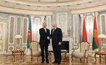 Встреча президентов Азербайджана и Беларуси в Минске