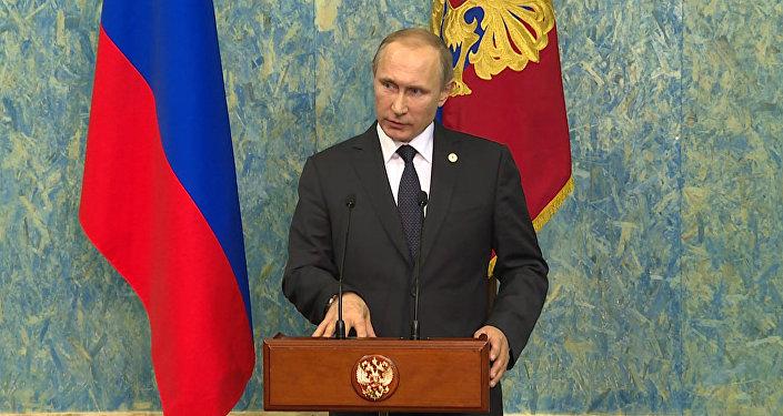 Это огромная ошибка – Путин о решении Турции сбить российский Су-24 в Сирии