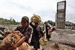 Situation in Osh: Return of refugees, special forces raids
