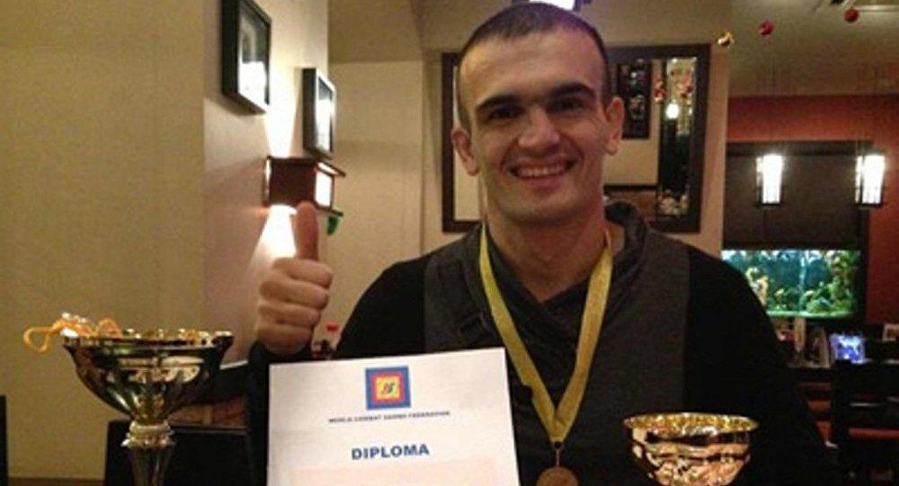 Чемпион мира по самбо Садиг Керимов