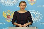 Захарова объяснила, какие статьи о Су-24 в турецких СМИ вызывают недоумение