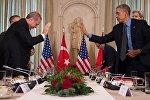 ABD Başkanı Barack Obama - Cumhurbaşkanı Recep Tayyip Erdoğan
