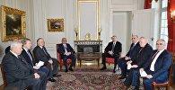 İlham Əliyev və Serj Sarkisyanın Minsk qrupu həmsədrləri ilə birgə görüşü