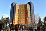 Здание Центрального Банка Азербайджана, архивное фото
