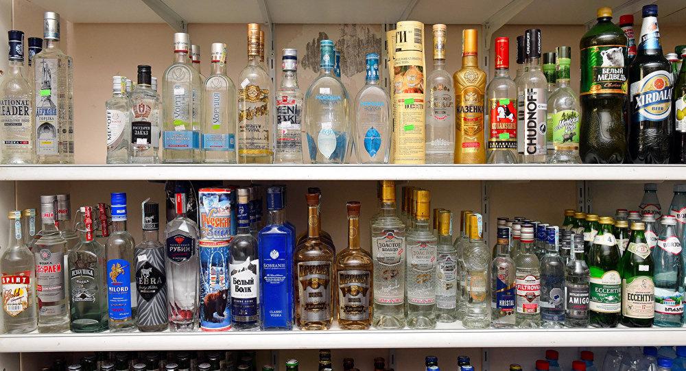 Spirtli içkilərin satışı