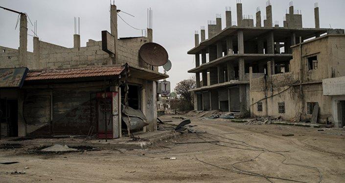 Зона боевых действий в Сирии. Архивное фото