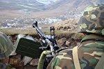 Обстрел в Карабахе