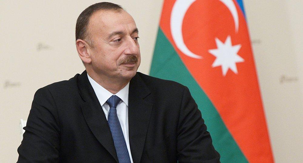 Президент Ильхам Алиев. Архивное фото