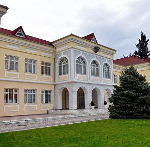 Здание российского посольства в Баку