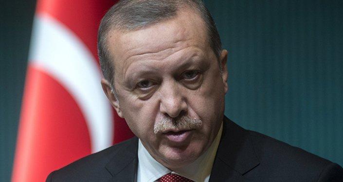 Президент Турецкой республики Реджеп Тайип Эрдоган. Архивное фото