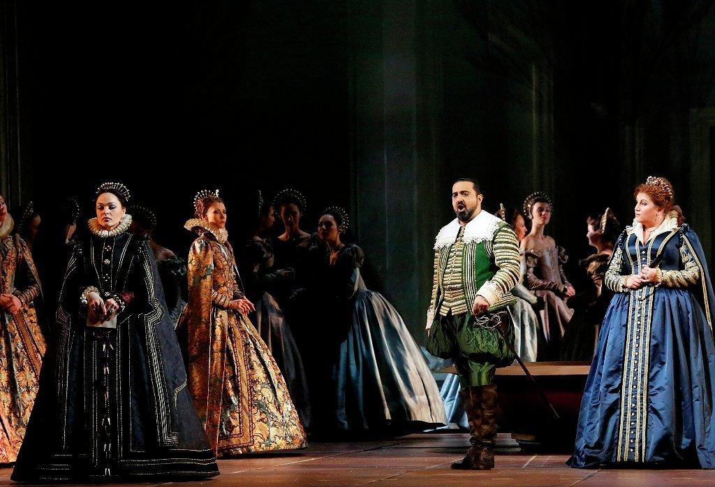 Эльчин Азизов исполнил сольную партию в опере Дж. Верди в Москве. Архивное фото