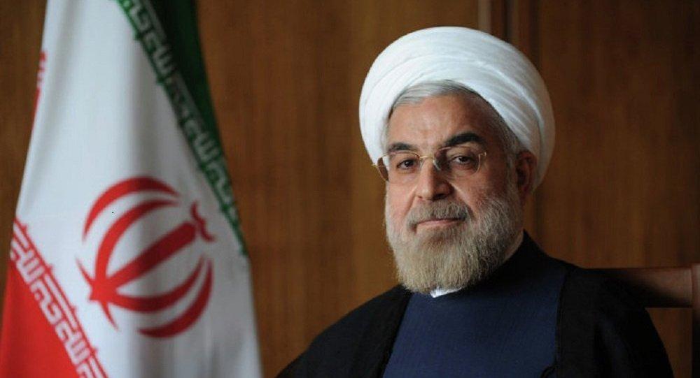 Президент Ирана Хасан Роухани. Фото с сайта президента ИРИ
