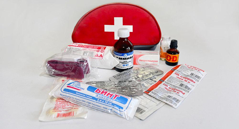 Медицинская автомобильная аптечка